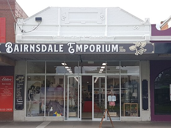 Front of the Bairnsdale Emporium