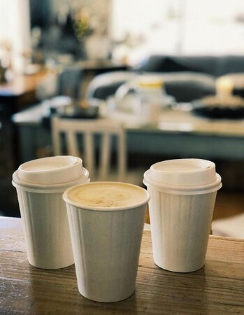 Takeaway coffee available too!