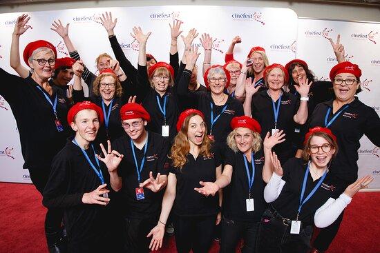 Busselton, Australia: Movie Crew volunteers @ CinefestOZ