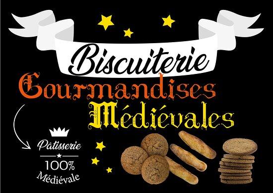 Biscuiterie Gourmandises Medievales