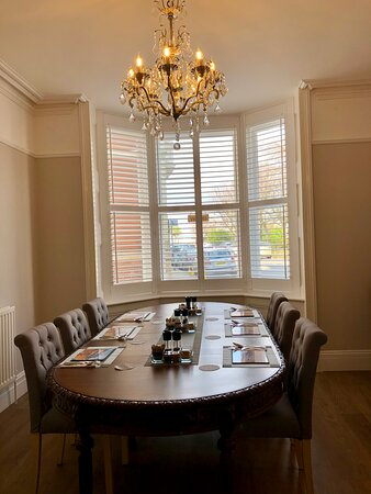 Enjoy breakfast at our lovely Victorian table