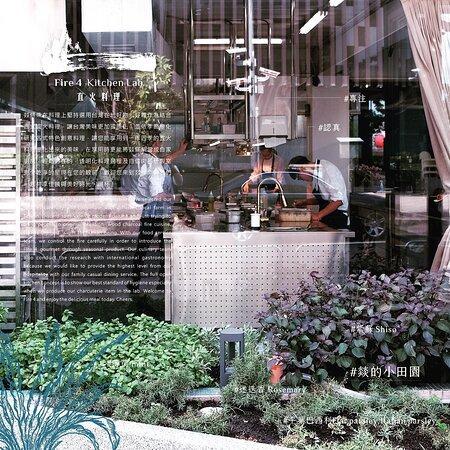 garden from side kitchen