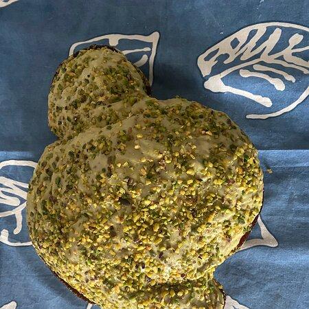 Amazing pistacchio colomba!!