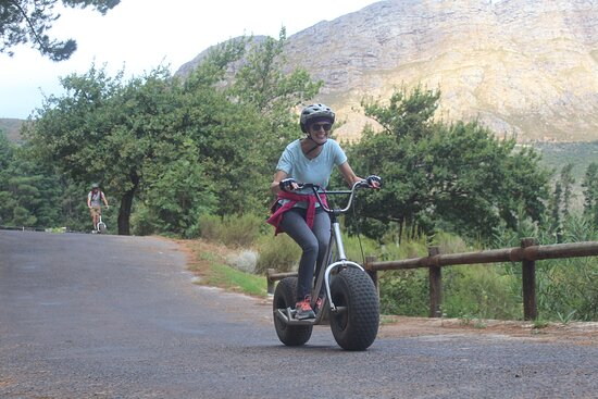 Franschhoek Winelands Scooter Tour: Faster than my husband!