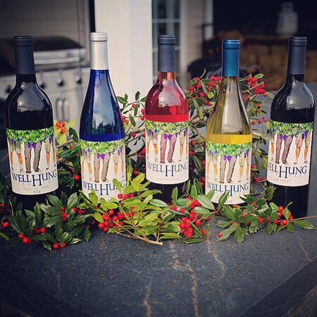 Well Hung Vineyard wines stand up to any occasion.