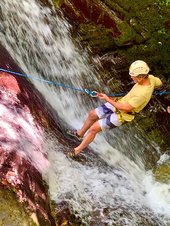 Canyoning tours every day in Uvita, 9:00am 506)87067703. Www.Costacanyoning.com