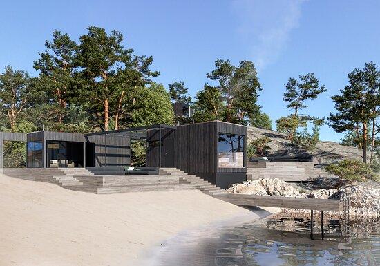 Inkoo, Finland: Sauna by the sea