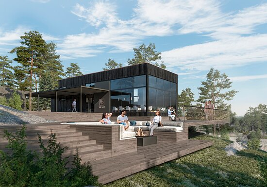 Inkoo, Finland: The Barö restaurant and lounge