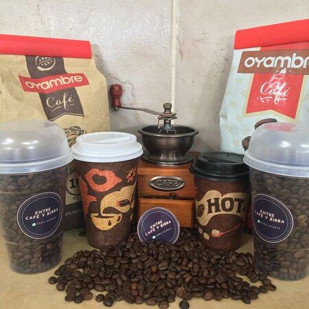 La Carlota, Argentina: Entre Café y Birra  Delivery de café