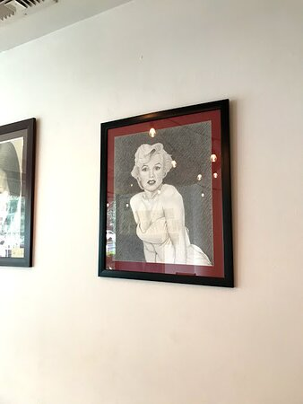 Cool art by a local Costa Rican artist.