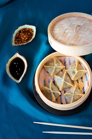 Prawn Mandu - Korean Prawn Dumplings