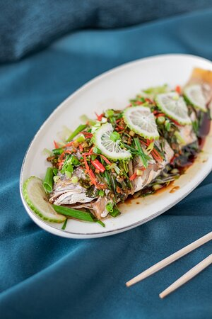 Steamed Soy Sauce Fish