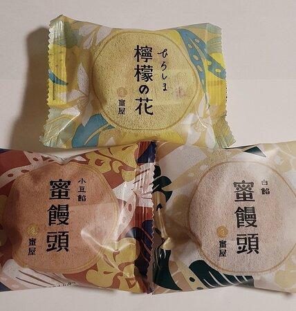 蜜饅頭3種