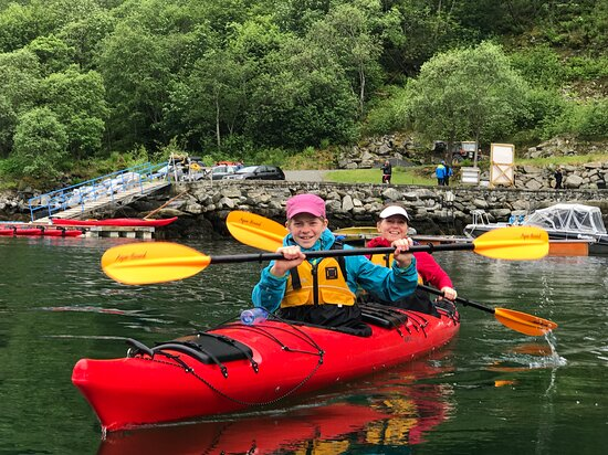 Geiranger, Norway: Familie activity