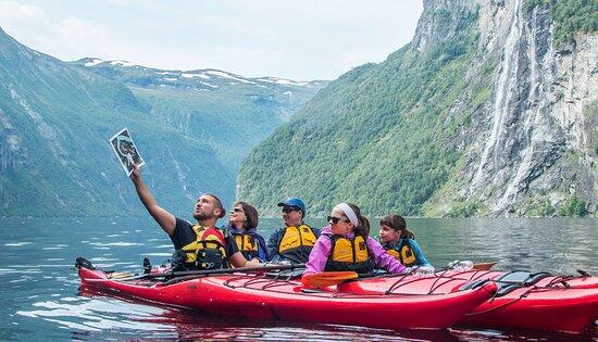 guidet tour Geirangerfjord