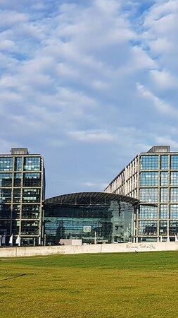 Berlin Hauptbahnhof. Dezember 2020