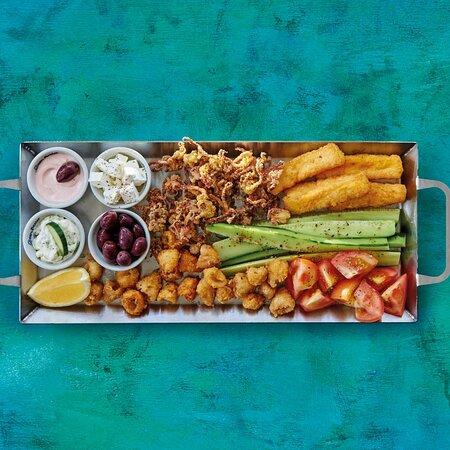 Meze platter for 2