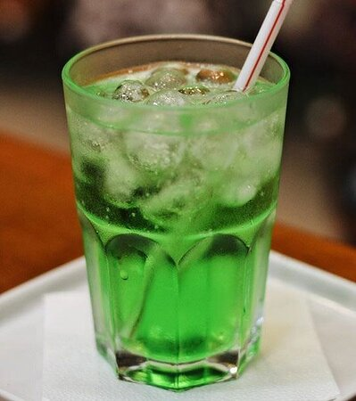 Uma refrescante Soda Italiana