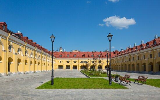 Historical court yard