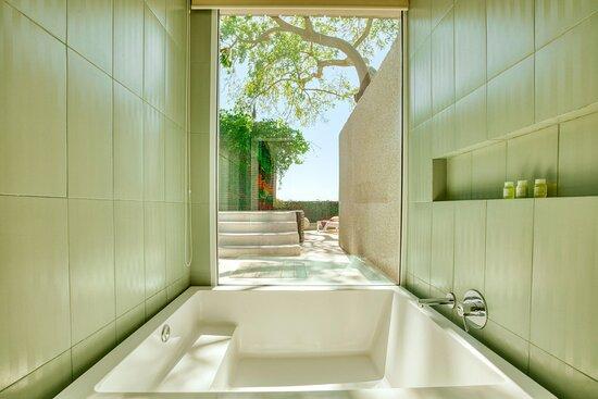 Cool Corner Bathtub View