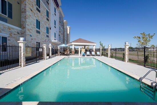 Fun in the sun in our new pool!!