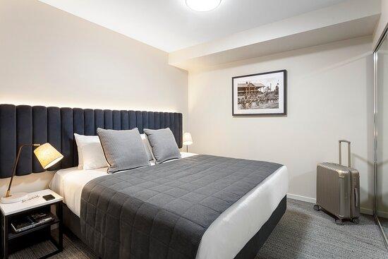 Quest Echuca One Bedroom Apartment Bedroom