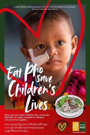 Eat Pho - Save Lives!