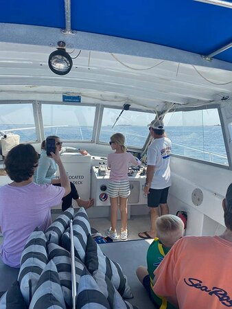 Training future captains on Ship of Fools. ⚓ We love having little ones onboard. If you're looking for an activity fun for the whole family, give us a call.   ☎️ 1-843-779-5711  Visit our website for more information.   👉🏽 CarolinaMarineGroup.com