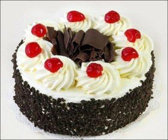 1KG Black forest treat http://www.firstwishonline.com/one-kg-black-forest-treat-cake-order-to-vijayawada.html