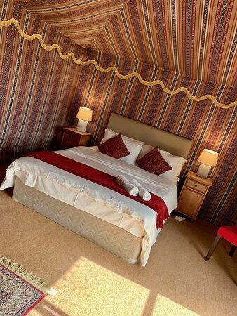 Bedouin Tent interior
