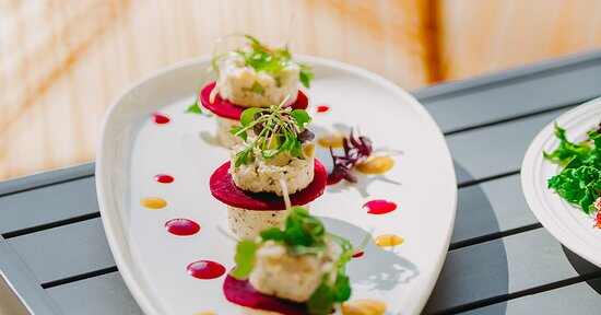 Vibrant, living foods are beautifully served at our poolside eatery.