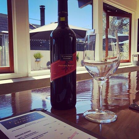 Carmel Valley, CA: Petite Sirah - our winemaker's favorite.