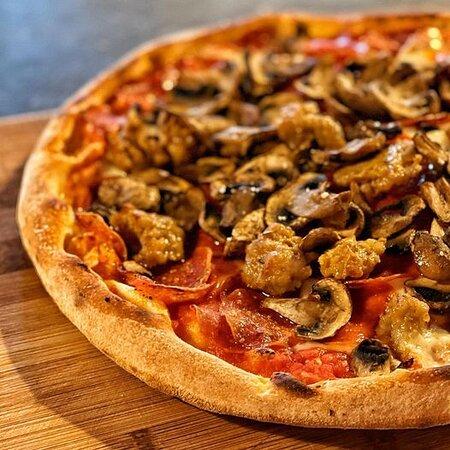 Pepperoni, sausage and mushroom