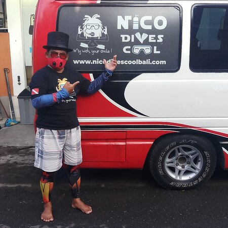 Scuba diving Bali with Nico Dives Cool