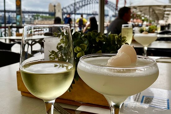 Great cocktails and views