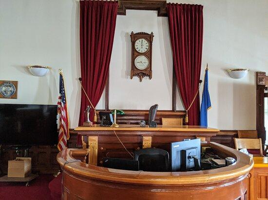 Eureka, NV: It is a beautiful courthouse.