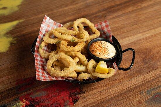 Calamares - deep fried squid