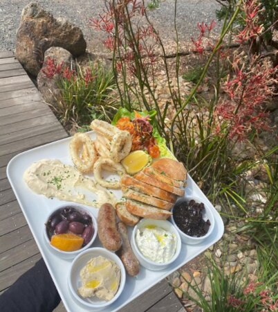 Come down and enjoy our Wild Food Farm Share plate and a glass of wine 🥂 Open Thursday-Monday 8am-3pm