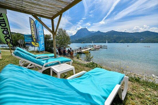 espace relax Nautic B  Serre Ponçon  école de glisse