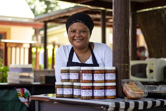 Nadia makes samosas, bean noodle salad, curry and more for the Sunday Market