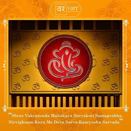 We wish you Subh Vinayaka Chaturthi. May lord Ganesh shower you with wisdom, prosperity, and good fortune.