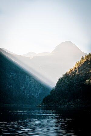 Geiranger, Norway: Skageneset.  Foto: Broadstone