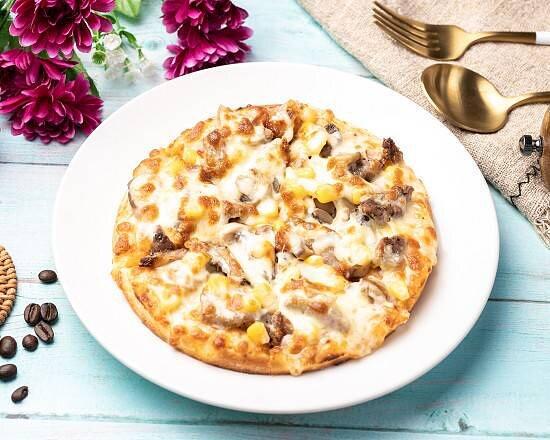 素食香菇比薩