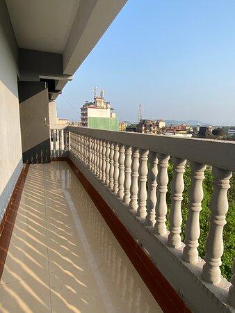 Room Balcony, Beautiful view of Margao City.
