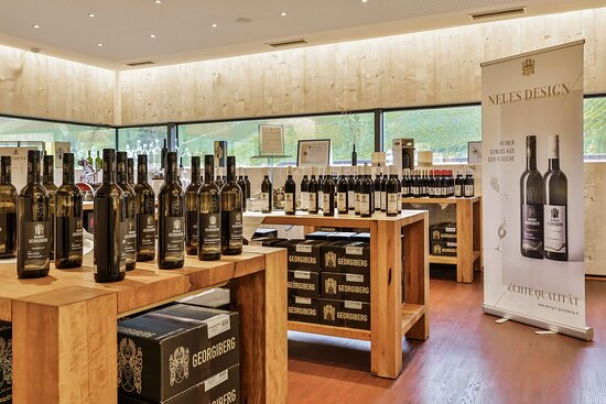 Berghausen, ออสเตรีย: Shop am Weingut Georgiberg