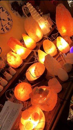 Lampade di sale himalayano originale