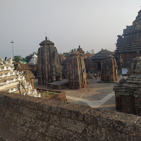 Bhubaneswar, India: Hidden gem. Lingaraj temple Odisha.great  architecture and a chain of temples in one area.