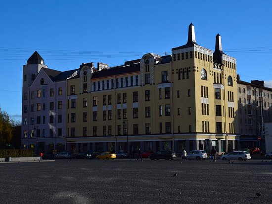 Dokhodnyy Dom Kuptsa F. Moskvina
