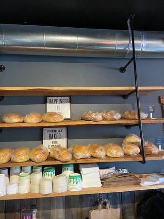 Homemade bread daily.