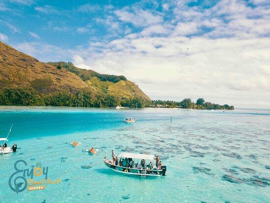 Enjoy Boat Tours Moorea